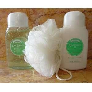 Perlier Kiwi Energy 3 Piece Gift Set In Travel Bag Beauty