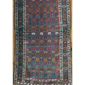 4x8 Hand Knotted Kurd Kurdistan Rug   46x87: Home & Kitchen