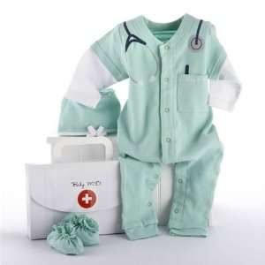 Baby M.D. Two Piece Layette Set in Doctors Bag Baby Gift Set Baby