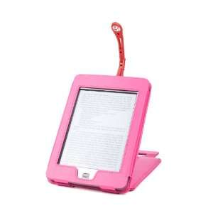 Pink Genuine Leather Case & Cover With Stand For s Kindle