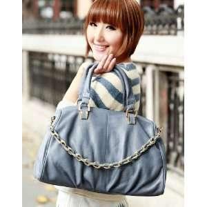 com 100% Real Genuine Leather Purse Shoulder Bag Handbag Satchel Tote