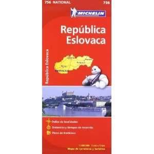 República Eslovaca. Mapa National 756 (9782067173033) AA
