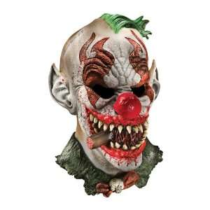 Foam Latex Mask, Deluxe Fonzo The Clown Adult  Toys & Games