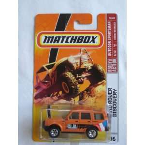 Matchbox MBX Outdoor Sportsman #96 Land Rover Discovery