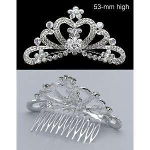 New Princess Bridal Flower Girl Crystal Tiara Comb T06 Beauty