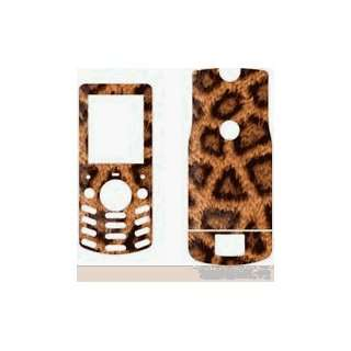 LEOPARD PRINT DESIGN CELLET SKIN CELL PHONE COVER