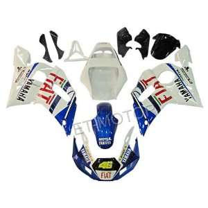 98 02 Yamaha YZF 600 R6 Moto Fairings Body Kits Ta123: Automotive
