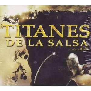 Los Titanes De La Salsa Varios Artistas Salseros 100 Anos De Musica