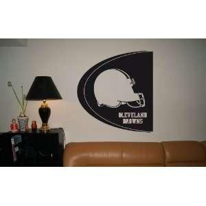 WALL STICKER MURAL VINYL NFL Cleveland Browns 002