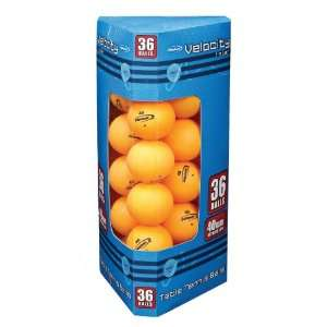 36 Pack 40mm 1 Star Table Tennis Balls (Orange)