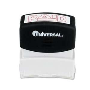 Pre Inked One Color Stamp STAMP,PAID,RD (Pack of15)