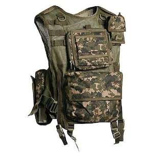 Ops Digi Camo SCOUT Paintball Vest:  Sports & Outdoors