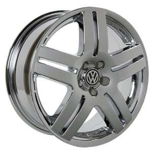 VW Passat 17 Inch Chrome Wheels Rims 1998 1999 2000 2001