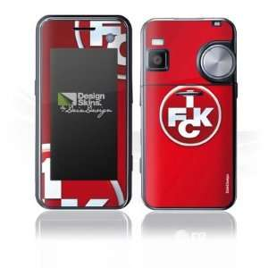 Design Skins for LG KF700   1. FCK Logo Design Folie