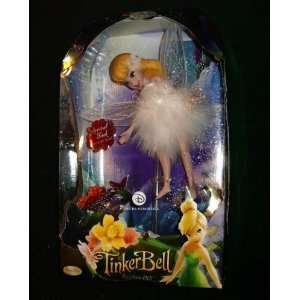 Disney Fairies Tinkerbell Porcelain Doll Brass Key Keepsake   Arrival