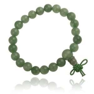 Aventurine 8mm Power Bead Stretch Bracelet Jewelry