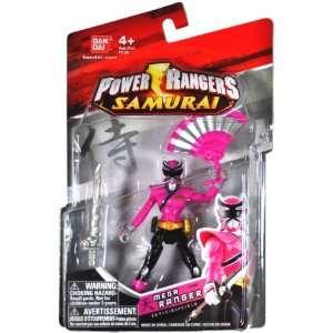 Bandai Year 2011 Power Rangers Samurai Series 4 Inch Tall Action