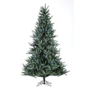 Pre lit Tiffany Spruce Artificial Christmas Tree   White LED