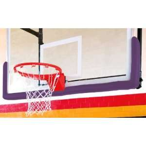 Fisher Basketball Goal Edge Padding Kits PURPLE 72 L X 15