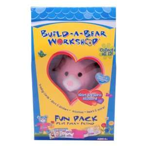 com Build a Bear Workshop Fun Pack (Pawsome Pink Bunny) Toys & Games