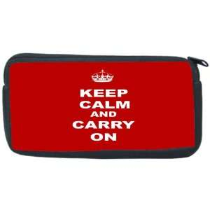 and Carry On   Red Neoprene Pencil Case   pencilcase   Ipod Case   PSP