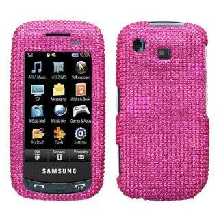 Pink Diamante Crystal Protector Cover for Samsung Impression A877 AT&T
