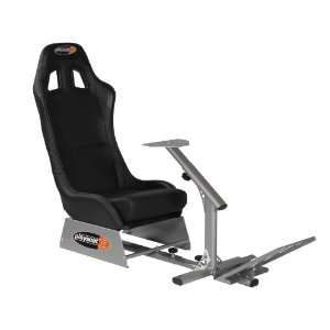 Playseats Evolution Game Chair in Black and Silver Video Games