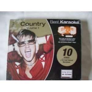Best Karaoke Country Volume One Various Artists Music