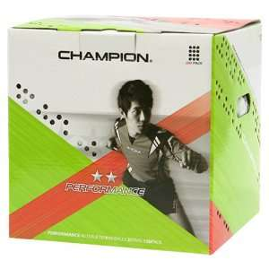 Performance 120 Two Star Table Tennis Balls