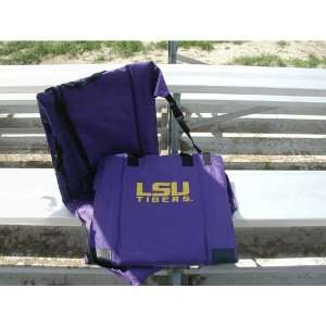 RV251 3000 LSU Tigers NCCA Ultimate Stadium Seat Sports & Outdoors