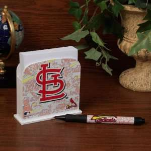 MLB St. Louis Cardinals Stationary Desk Caddy  Sports