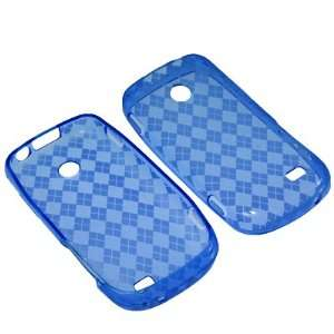 Straight Talk Samsung T528G  Blue Checker Cell Phones & Accessories