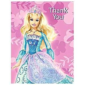 Barbie Island Princess Thank You Notes Toys & Games