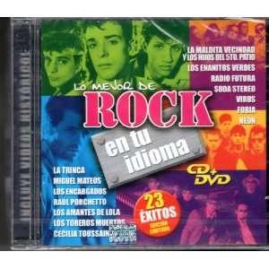 Lo Mejor De Rock En Tu Idioma Cd+dvd Varios Music
