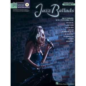 Jazz Ballads   Pro Vocal Womens Edition Volume 17   Book