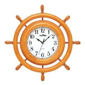 Brigante Wood Frame Wall Clock Home & Kitchen