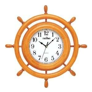 Brigante Wood Frame Wall Clock