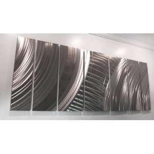 Velocity Modern Abstract Metal Wall Art Sculpture