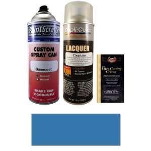 12.5 Oz. Daytona Blue Metallic Spray Can Paint Kit for 1990 Dodge Ram