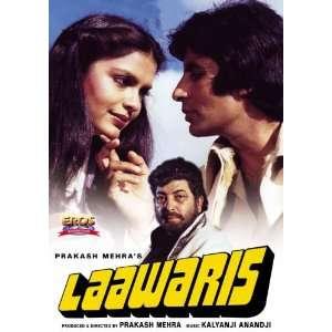 Laawaris Amitabh Bachchan, Zeenat Aman, Amjad Khan