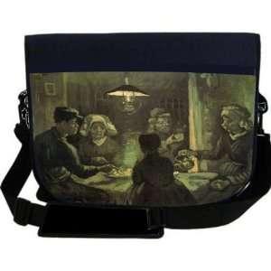 Van Gogh Art Potato Ear NEOPRENE Laptop Sleeve Bag Messenger Bag