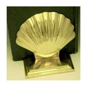 Mayer Mill Brass Shell Book Ends   Chrome Everything Else
