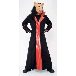SAW 2 PIG Trench Coat and Mask Adult Costume Everything