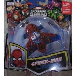 Marvel Super Hero Squad SPIDER MAN Sky Squadies Die Cast Airplane