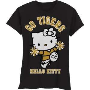 Tigers Hello Kitty Pom Pom Girls Crew Tee Shirt