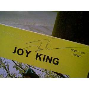 , Eddie Joy King LP Signed Autograph Live Performance At Ghost Town