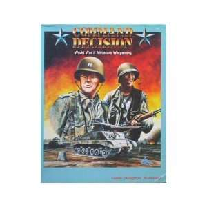 Command Decision World War II Miniature Wargaming [BOX SET] [Game]