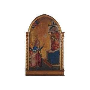 The Annunciation Die cut Christmas Card