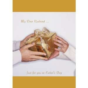 My Dear Husband , Just for you on Fathers Day Greeting Cards