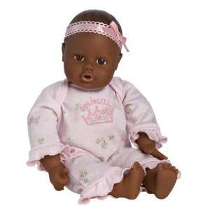 Adora Playtime Baby Doll 13 Brown Eyes Pink Romper: Toys & Games